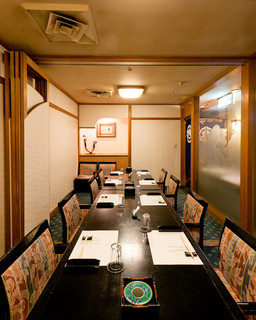 築地竹若 - イステーブルの洋間もございます。14名様まで可能