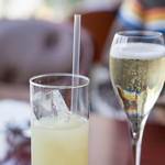 ブション・プロヴァンサル Chez AZUMA - スパークリングワインとグレープフルーツジュース
