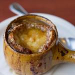 ブション・プロヴァンサル Chez AZUMA - 特製オニオングラタンスープ