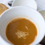 ブション・プロヴァンサル Chez AZUMA - マルセイユ風 魚のスープ グリュイエールチーズ