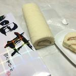 南条サービスエリア(下り線)スナックコーナー - 〜羽二重ロールケーキ②〜