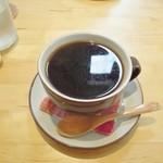 スリームーン - 油脂分が抽出されているホットコーヒー!
