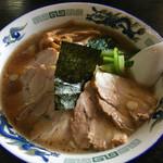 蔵一 - 喜多方麺のチャーシューメン