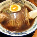 高松 - 中華そば(肉1枚) 620円税込