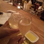 44678670 - シャンパンとサングリアで乾杯