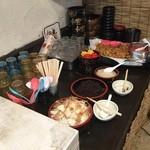 麺屋 節と煮干の濃厚ばかっぷる - 食べ放題!(サービス)