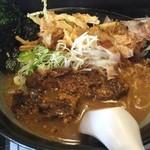 麺屋 節と煮干の濃厚ばかっぷる - 濃濁らーめん¥790