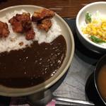 44679039 - 唐揚げカレー定食 ¥680