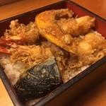 つくし亭 - 料理写真:天重