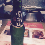トゥッカーノグリル&バー - 生ビール頼んだらこれが来たゾ。330ml 500円。国産でいいんだが