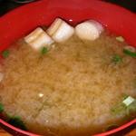 津和野 - ランチ 焼魚定食のみそ汁