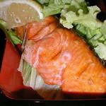 津和野 - ランチ 焼魚定食のしゃけ