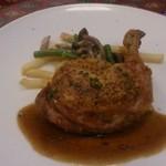 44681236 - 若鶏のコンフィローズマリー風味