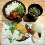 京・錦 おばん菜ビュッフェ ひなたや - 2015/11/19(木)