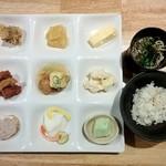京・錦 おばん菜ビュッフェ ひなたや - 1時間コースで 2015/11/19(木)