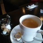 Chee's cafe dining - スペシャルランチのセットドリンク ホットコーヒー