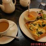 カフェソフィア - 料理写真:ポパイセット \610(税抜き)