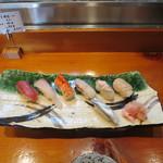 喜久寿司 - 小町にぎり(これに巻物も追加されます)