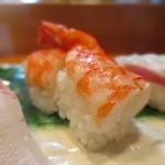 喜久寿司 - 海老アップ