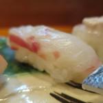 喜久寿司 - 鯛アップ