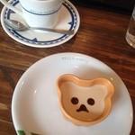 44682712 - ほうじ茶プリン&コーヒー