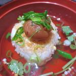 日本料理加賀 - 焼きおにぎりの出汁茶漬け