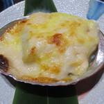 日本料理加賀 - 鮑のグラタン