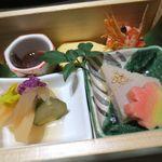 日本料理加賀 - 料理写真:前菜