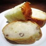 アンテリブル - 自家製パン 3種類  フォカッチャ  ピーカンナッツ入りバゲット  バゲット