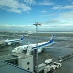44685171 - 羽田空港第2旅客ターミナル 5階から見下ろす風景