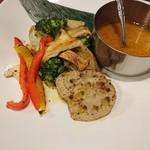 44686640 - ◆燻製もろみ味噌と鉄板焼き野菜の和風バーニャカウダ