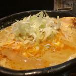 44686697 - スープは甘めの優しい印象。