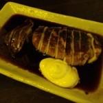 みやと水産 - 【店内黄色】スルメイカの丸焼きは、濃厚なたれが最高です!