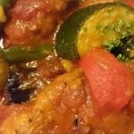 スペイン食堂 ヨシムタ - 鶏のチリンドロンソース