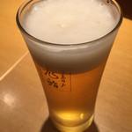 天喜代 - グラスビール