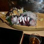 御園 - 料理写真:おまかせ舟盛り