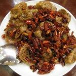 福満園 - 牛肉の薄切辛子炒め