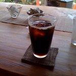里舎 - ドリンク写真:アイスコーヒー