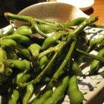 4469910 - 枝ぶりが良い枝豆