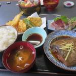 相浜亭 - はらいっぺい定食(1080円)