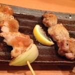 炭火焼 八剣伝 - 純和赤鶏もも焼き