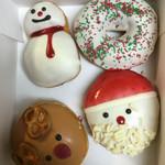 クリスピークリームドーナツ - クリスマスっぽい