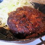 東京トンテキ - トンバーグ(すりおろし玉ねぎのソース)