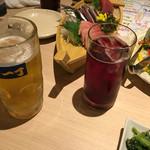 魚や一丁 - ワインとビールと刺身