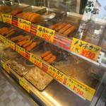 肉のネムラ - 揚物のショーケース