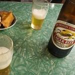 みのかん - ビール(大瓶)460円