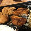 さぼてん - 料理写真:ヒレと唐揚げ