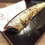 彦バル - 秋刀魚のコンフィ・750円