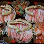 旬菜 喜いち - セコガニ! プロの調理 盛り付けで 絶品の旨さ。12月中旬までの大漁??
