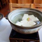 琴きき茶屋 - メインの湯豆腐
